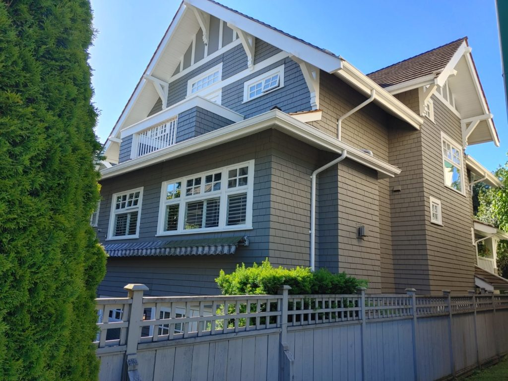 Burrard and 16th Ave. exterior painting